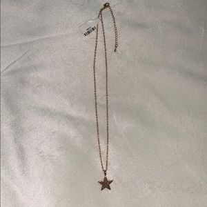 NWT star necklace